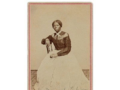 Previously unrecorded portrait of Harriet Tubman
