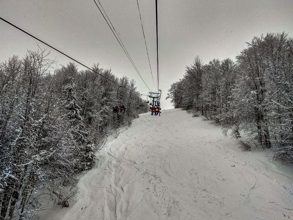 Ski elevator to the top of Mount Gemba thumbnail