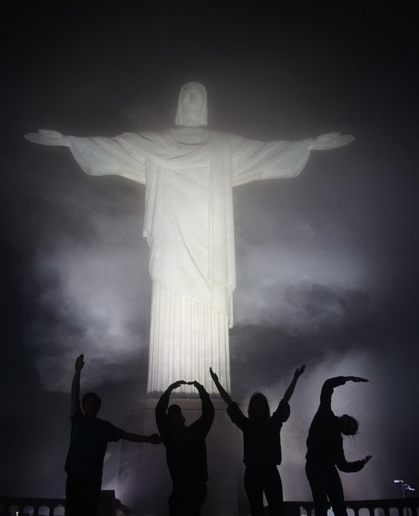 Christ The Redeemer in the Fog  thumbnail