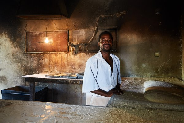 A Baker on the island of Inhaca, Mozambique thumbnail