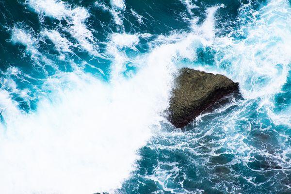 A Wave Crashing in Guam thumbnail