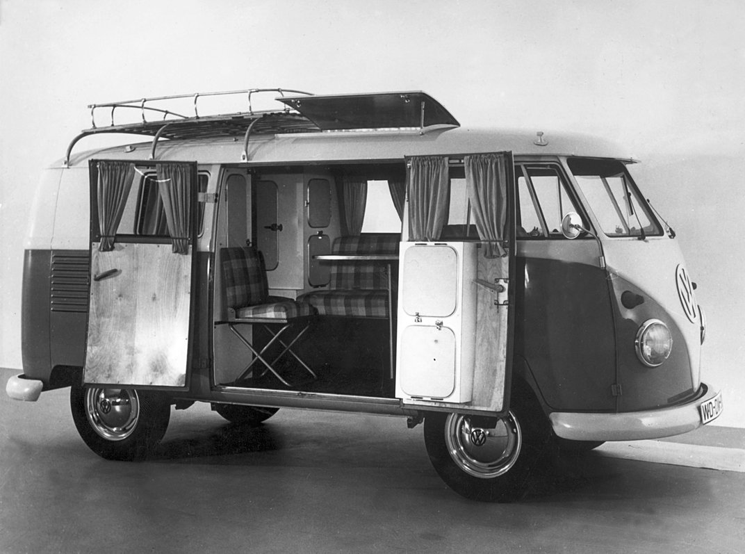 How the Volkswagen Bus Became a Symbol of Counterculture