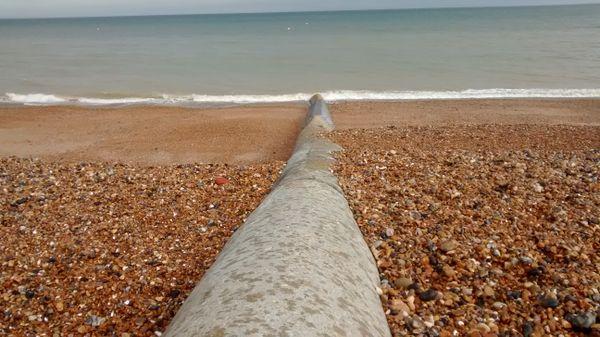 First Drops Of Rain At The Seaside thumbnail