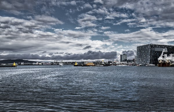 Reykjavik from the sea thumbnail
