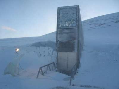 The Svalbard Global Seed Vault. A new vault will protect the world's books, archives and documents on long-lasting film