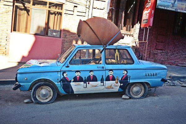 The unusual old car thumbnail