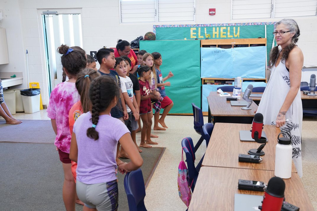 In Hawai'i, Young Storytellers Document the Lives of Their Elders