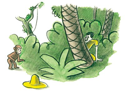 The Curious George series has sold 10,000 times the initial print run.