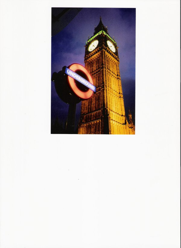 Big Ben and Underground sing at Twilight thumbnail