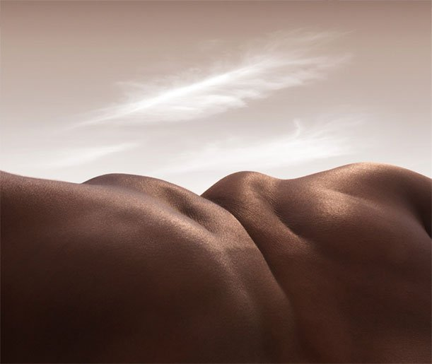 Carl Warner's Mountains Are Made of Elbows and Knees