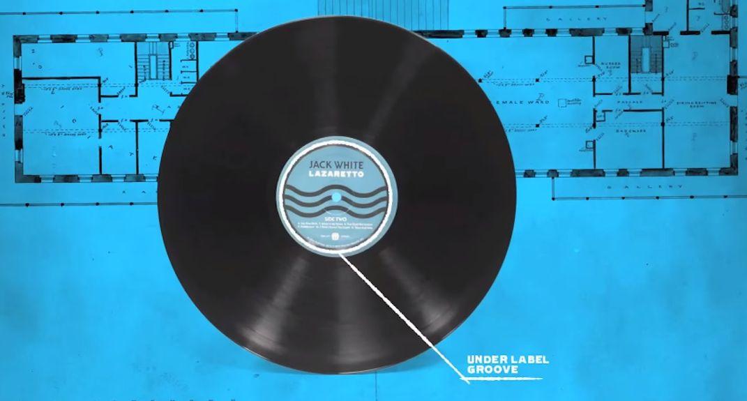 "Jack White's innovative Lazaretto ""Ultra LP"""