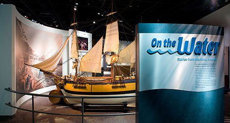 """At the exhibition """"On the Water,"""" learn about pirates."""