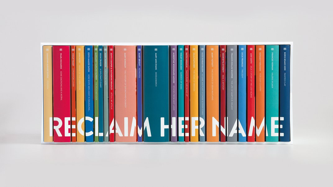 Why a Campaign to 'Reclaim' Women Writers' Names Is So Controversial