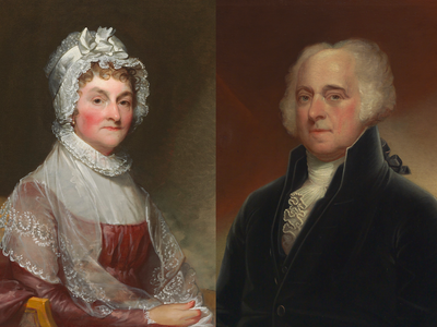 Abigail and John Adams's letters to each other show a rare marriage of equals, historians say.