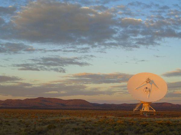 Satellite in desert thumbnail