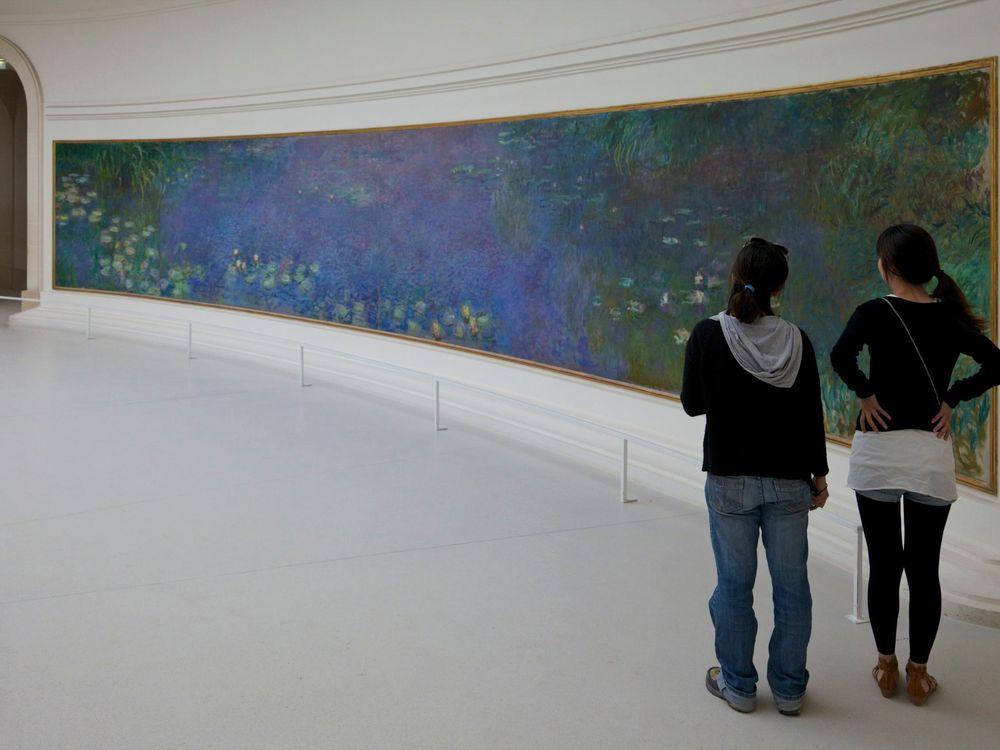 Teens in Art Museum