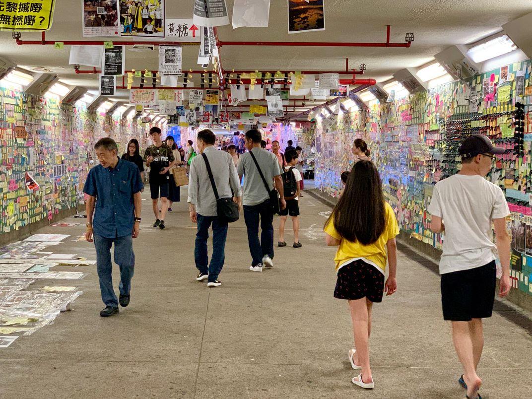 Hong Kong's Sticky-Note Revolution