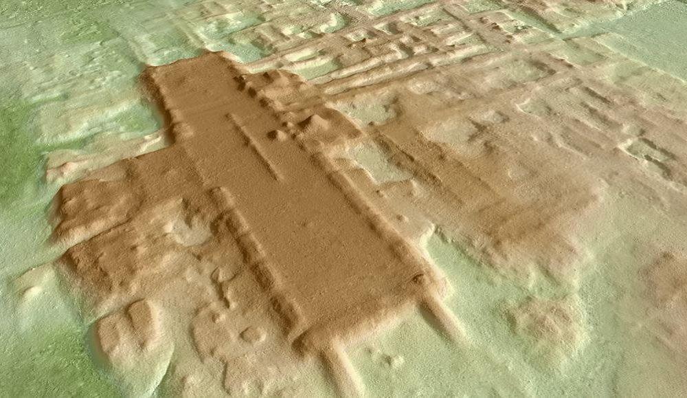 LiDAR scan of site