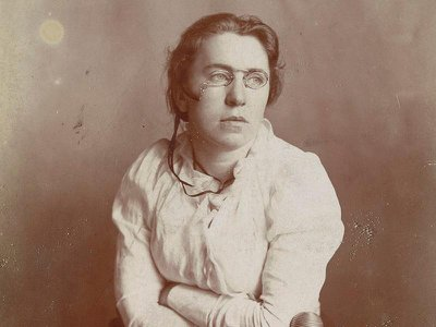 Anarchist Emma Goldman, who dedicated her life to combatting inequality, repression and the exploitation of workers