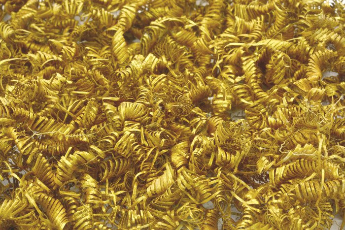 gold spirals