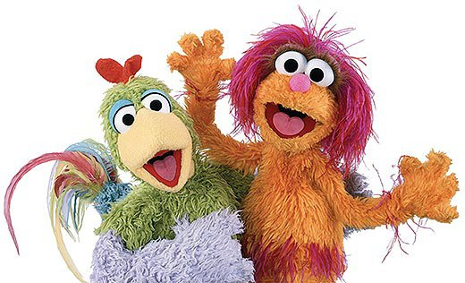 Kareem and Haneen Sesame Street