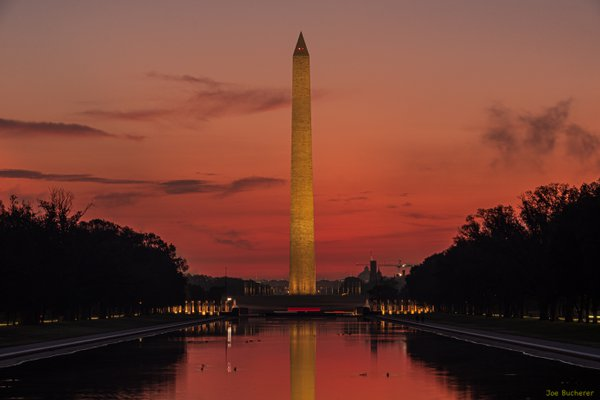 Sunrise at the Washington Monument thumbnail