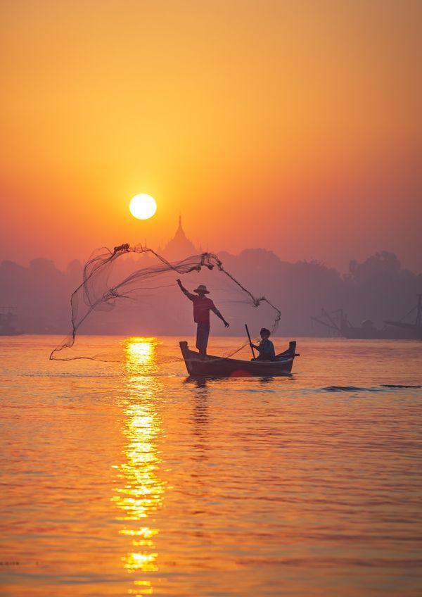 Daily life of fisherman thumbnail