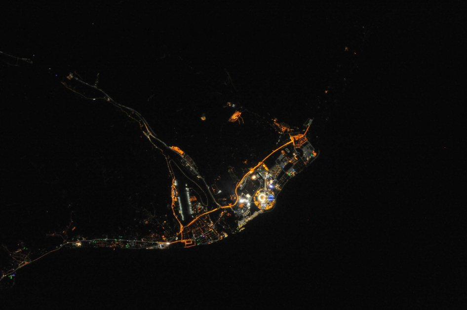 Here's What Sochi Looks Like from the ISS