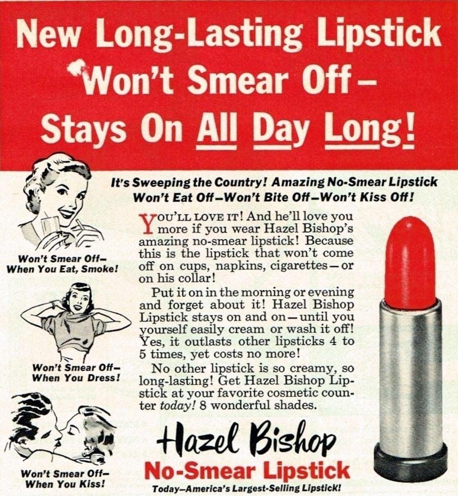 Chemist Hazel Bishop's Lipstick Wars