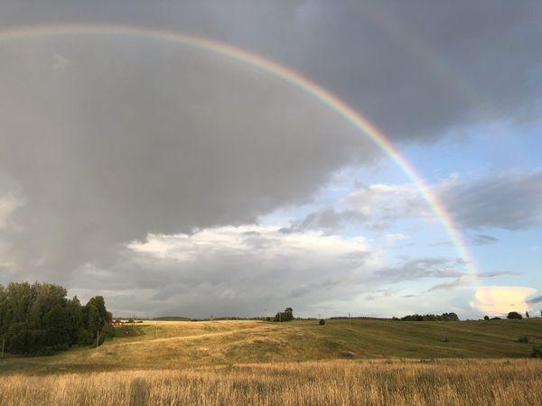 rainbow over lithuanian fields thumbnail