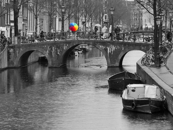 A rainy day in Amsterdam thumbnail