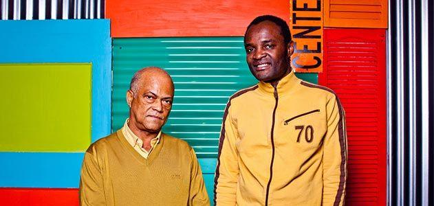 Antonio Ole and Aime Mpane