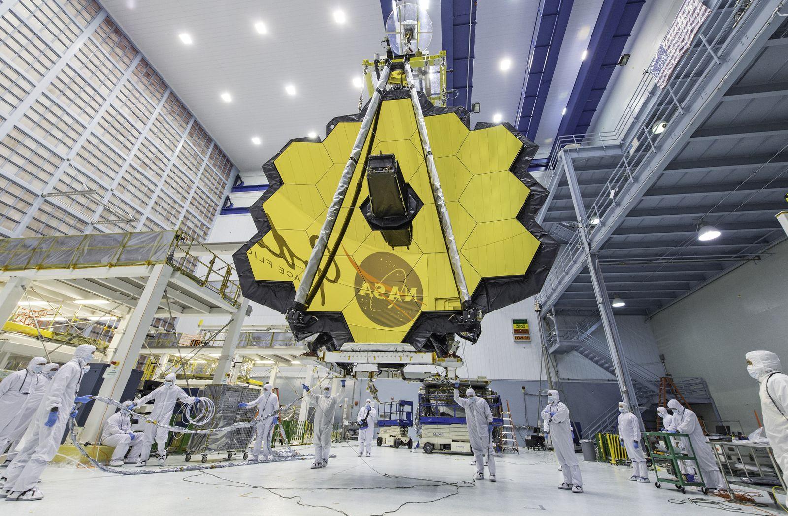 NASA's James Webb Space Telescope Will Launch Into Orbit in December