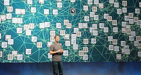 Facebook CEO Mark Zuckerberg pitches the power of frictionless sharing.