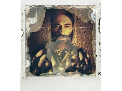 """Photographer Oliver Blohm put instant film in a microwave for his series, """"Hatzfrass."""""""