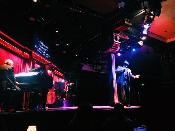A singer at El Querandí Casa de Tango in Buenos Aires, Argentina thumbnail