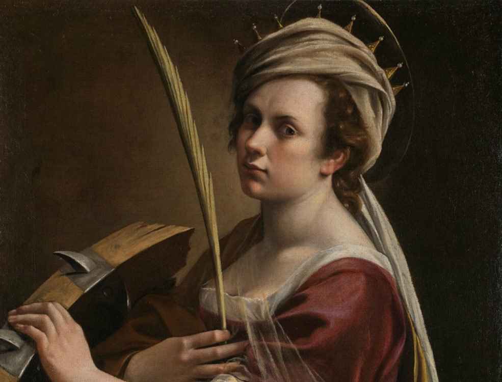 Artemisia Gentileschi Self-Portrait as Saint Catherine of Alexandra