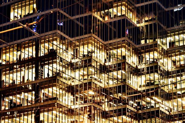 CCXCI / 0291 - CIBC Building after work. thumbnail