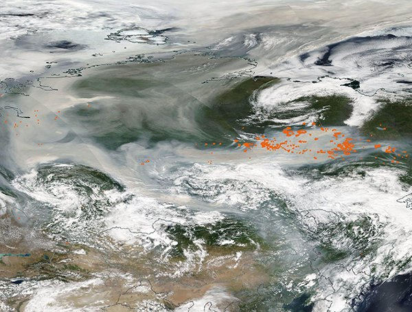 More Than 40 Million Acres of Land Have Burned in Siberia