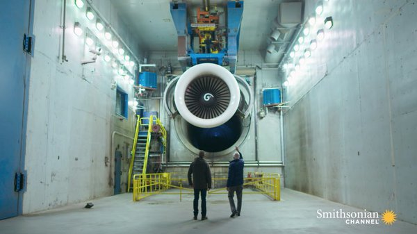 Preview thumbnail for Admiring the Power and Innovation of a 747 Engine