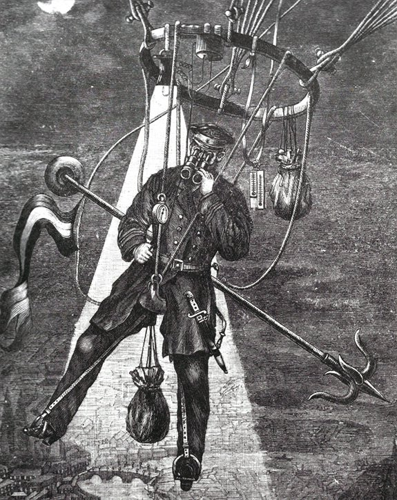 Hot Air Balloon Travel for the Luxury Traveler of the 1800s