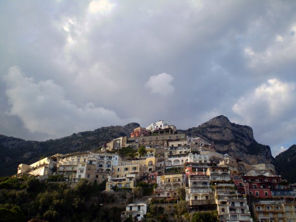 A community in Southern Italy built up a mountainous island during a ferry ride to Capri. thumbnail