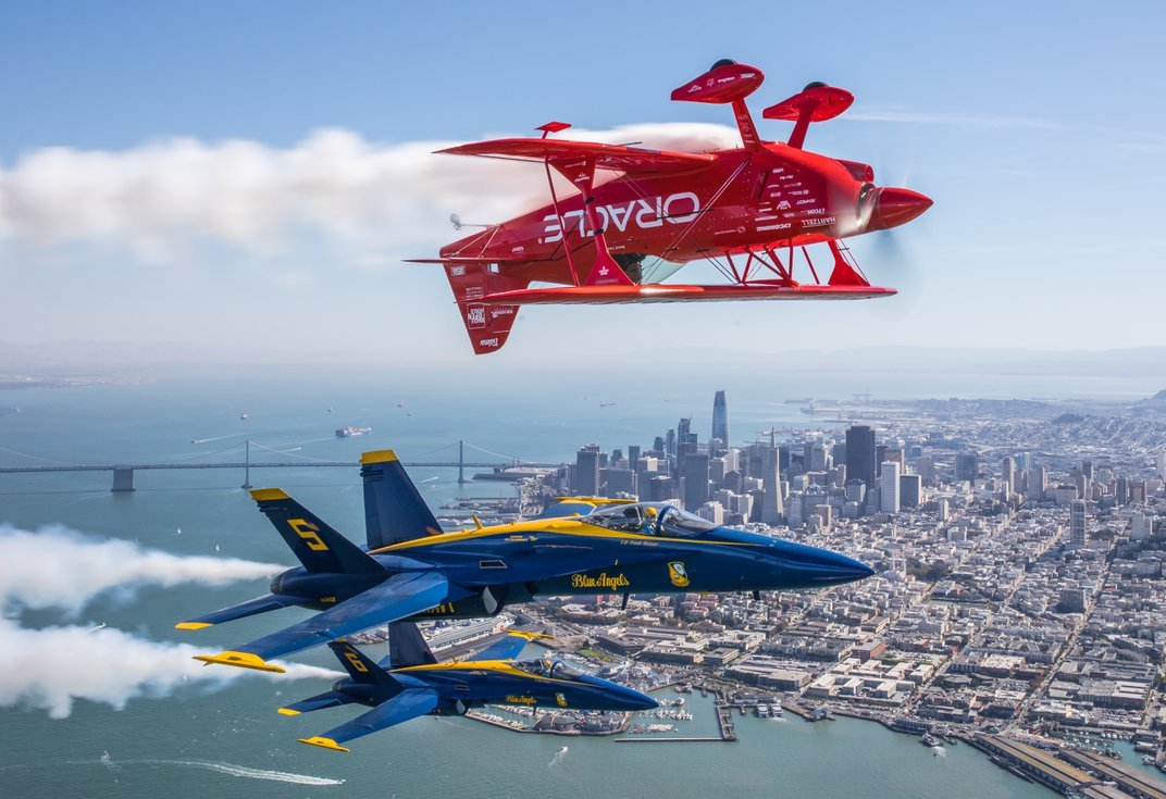This One-of-a-Kind Biplane Embodies the Thrill of Airshow Flight
