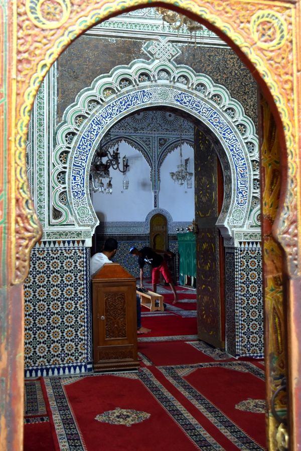 Entrance to a Mosque thumbnail