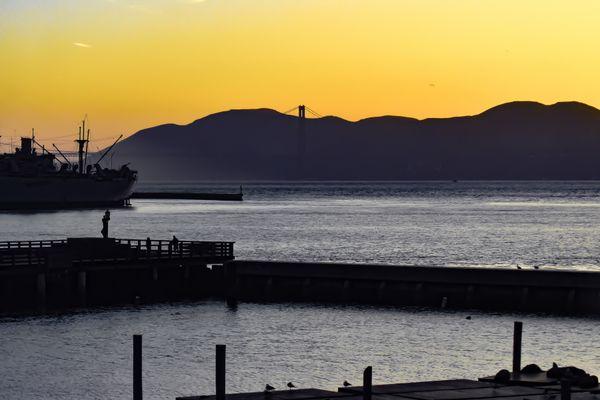 San Francisco Bay at Sunset thumbnail