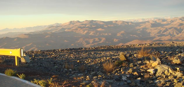 The Chilean Andes