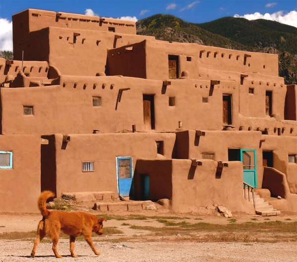 Roots - oldest continuously occupied in dwelling in the US (Taos NM) thumbnail