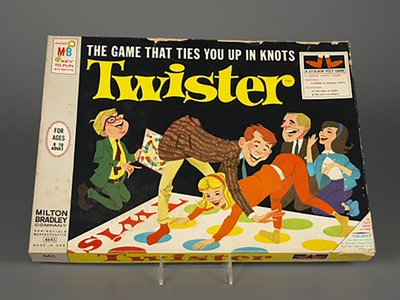 To deflect from concerns around sexual undertones, Milton Bradley packaged the game as inoffensively as possible.