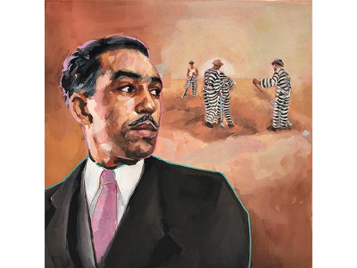 Several years after traveling through the South with fellow writer Zora Neale Hurston, Langston Hughes wrote an essay about an encounter with a young man escaping chain gang labor.