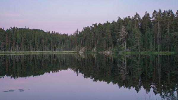 Reflecting Calmness at Dusk thumbnail